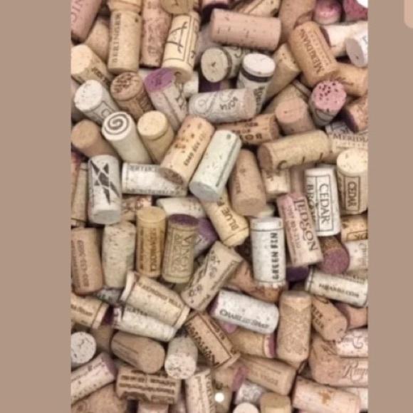 100 wine corks